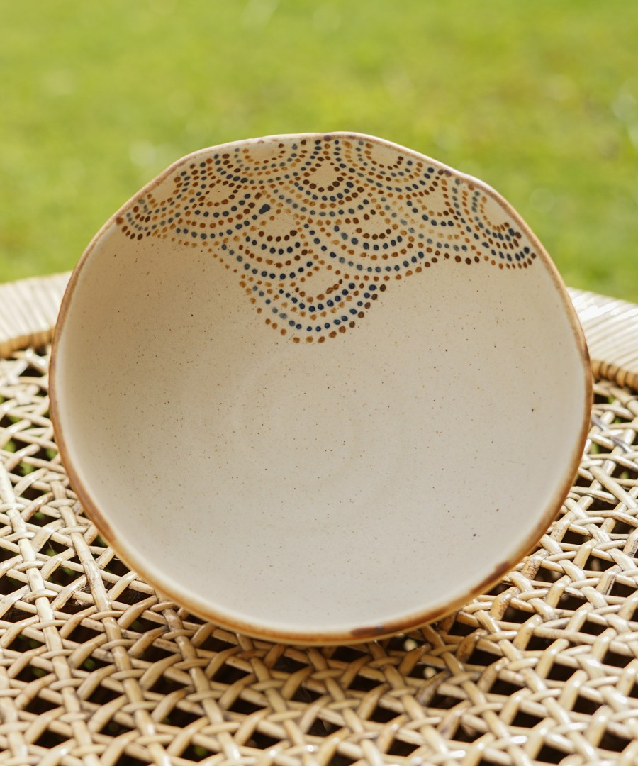 Ceramic Bowl - Gond Painting